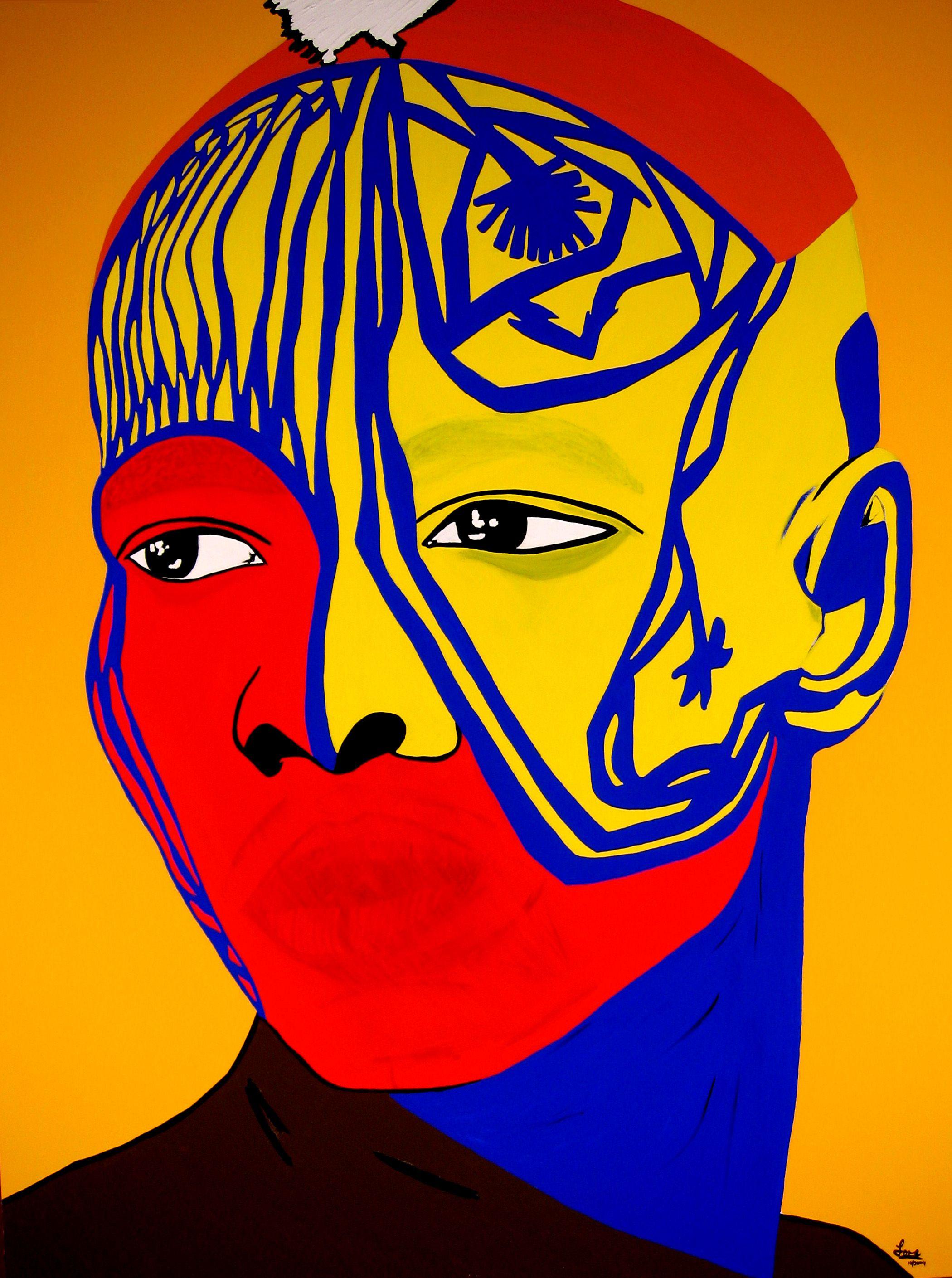 Image result for melancholic african mask color