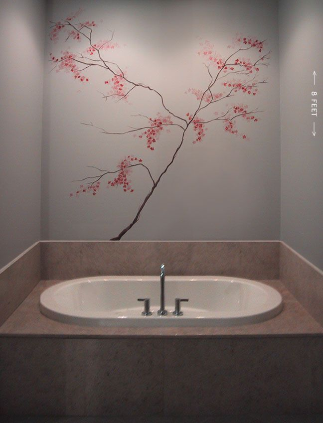 cherry blossom mural - Google Search Home, Walls Pinterest