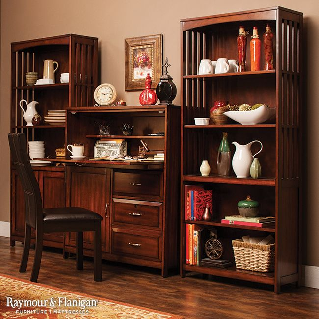 Bookcases aren't just for books -- with a few baskets, they can keep all your odds and ends looking nice and neat. And don't forget the desk. Having a designated spot to pay the bills or jot down a grocery list means your paperwork will be confined to one space instead of sprinkled across multiple rooms.