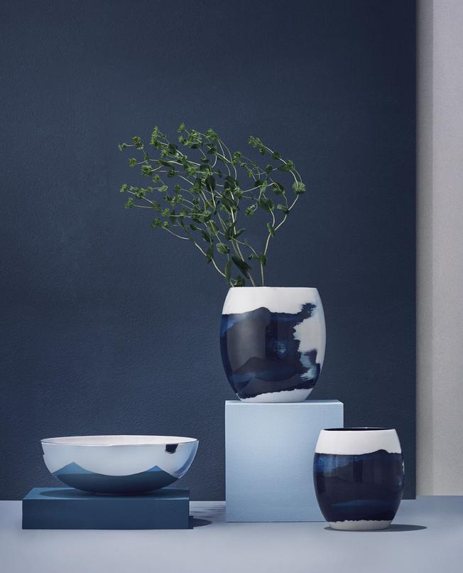 Stockholm Aquatic Vase / Ø 16 cm x H 22 cm Stelton