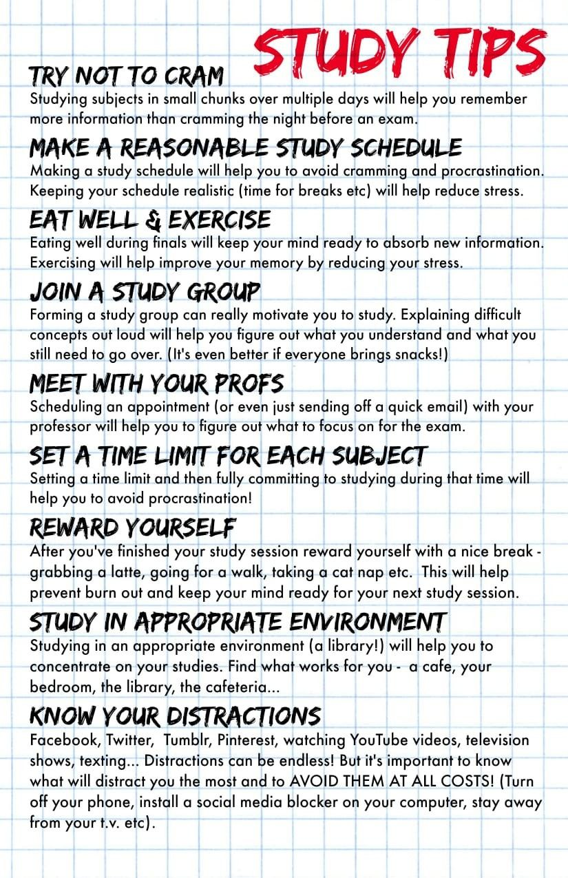 Helpful study tips for you School study tips, Study tips