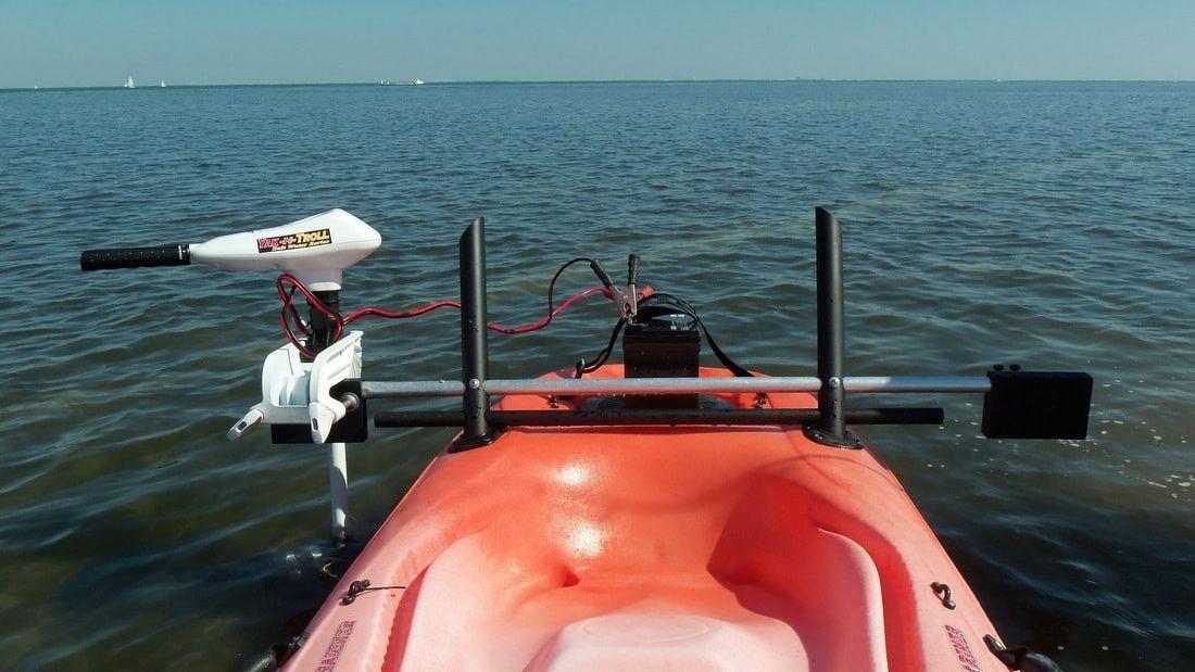 Island Hopper Deluxe Kayak Motor Mount  Most Kayaks  Products  Kayak trolling motor Kayak