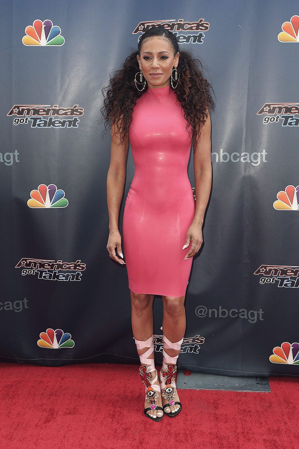 3a4874313 Melanie Brown attends America's Got Talent TV show | Mel B | Mel b ...