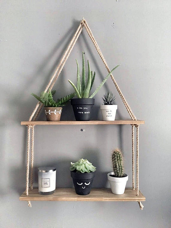 Stylish Storage Shelves At Menards That Will Blow Your Mind Decoracion De Repisas Estantes Colgantes Repisas De Madera