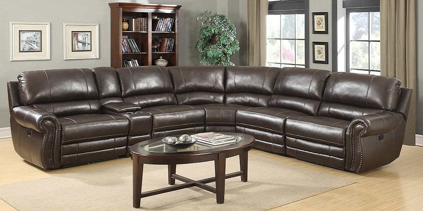 Costco 6 Piece Top Grain Leather Reclining Modular Sectional Best Quality Design 2018 2019 Sofa Bed Design Sectional Sofa Sectional Sofa Couch