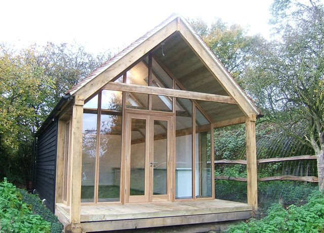 Garden Buildings   Oak Framed Studio