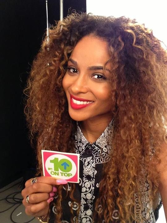 Ciaras Curly Hair So Pretty