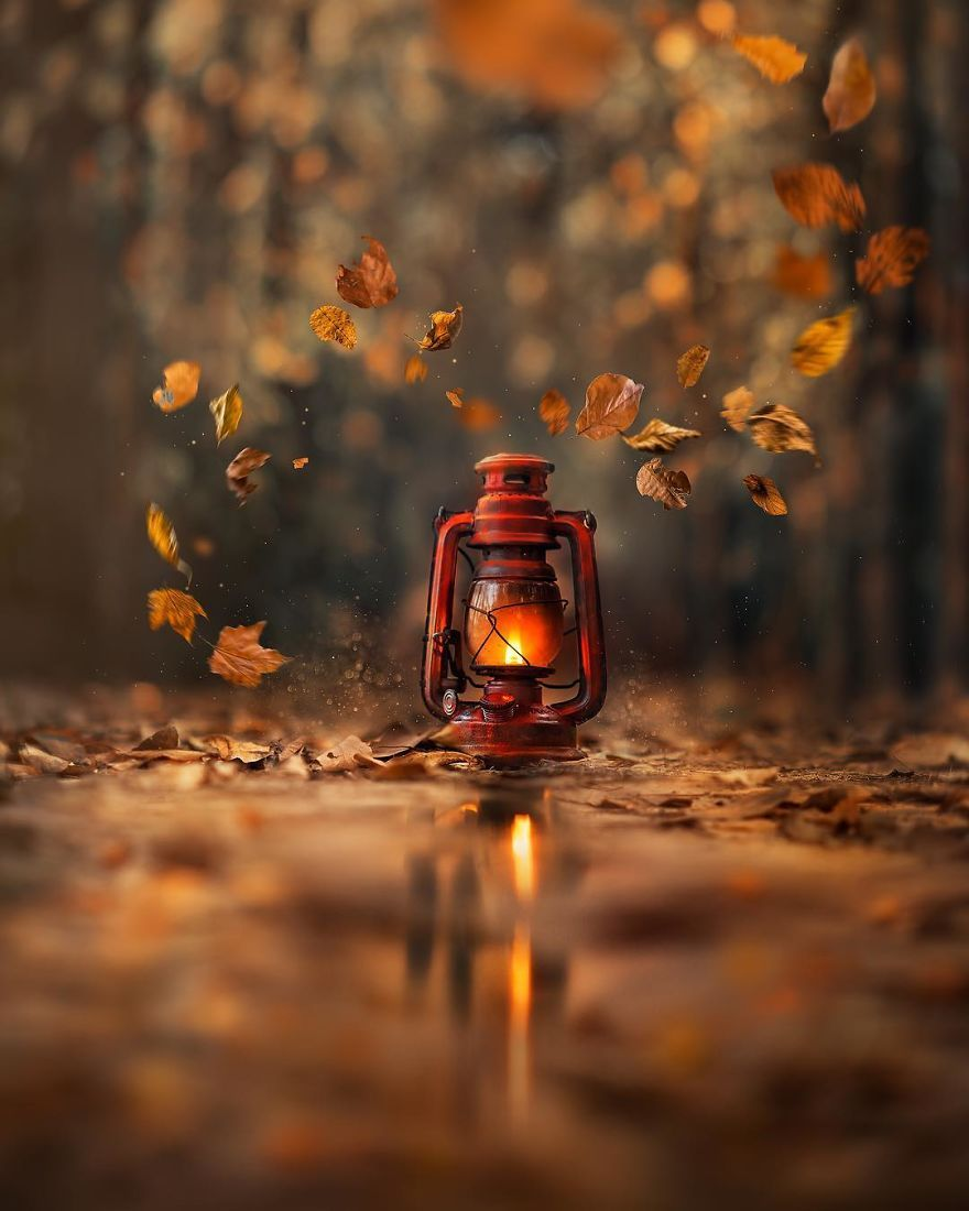 I Create Magical Images With My Old Lantern Old Lanterns Autumn Photography Magical Images