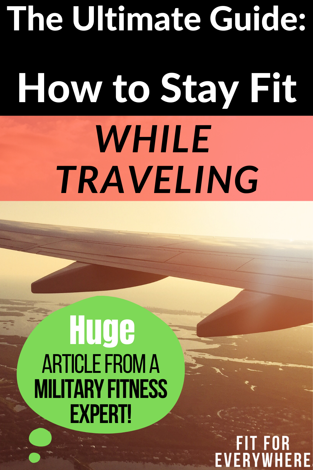 The internet's biggest travel-fitness post! Tips on staying in great shape while traveling, with adv...