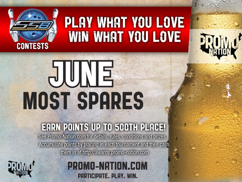Silver Strike Bowling June contest Promo Nation Most