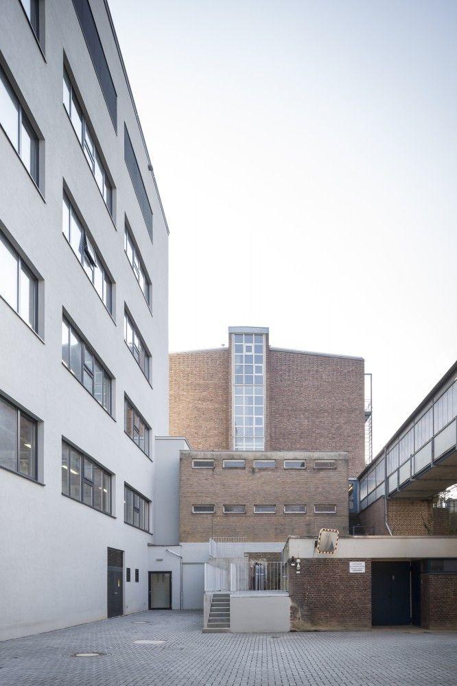 Gallery of chemiepraktikum aachen ksg architekten 7 gebouw oud vs nieuw pinterest - Architekten aachen ...