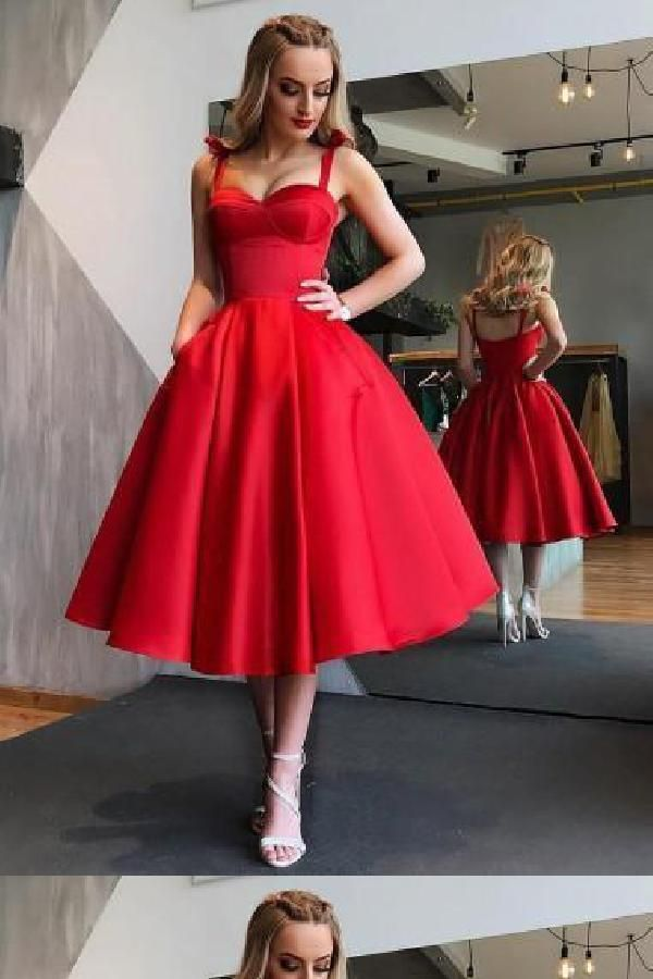 Appealing Red Homecoming Dresses, Homecoming Dresses Cheap, Short Homecoming Dresses, Homecoming Dresses Simple -   16 dress Party red ideas