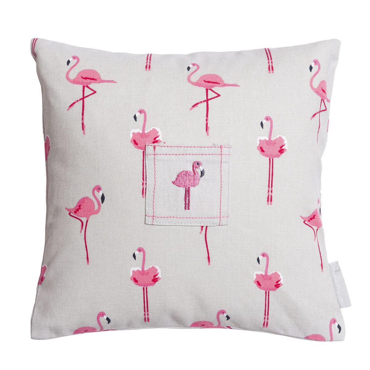 Sophie Allport Hob Cover Round Flamingos Design