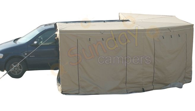 WA02 Wing Awning Foxwing Ripstop Canvasthree Size For Choice250x215cm