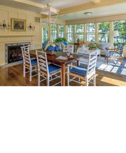 Somerset Bay Oakville Dining Chairs With Custom Leonards Dining Table