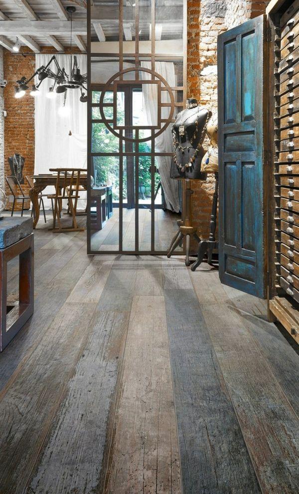 Ceramica Sant Agostino fliesen holzoptik farbig elegant Fußboden - grose wohnzimmer fliesen