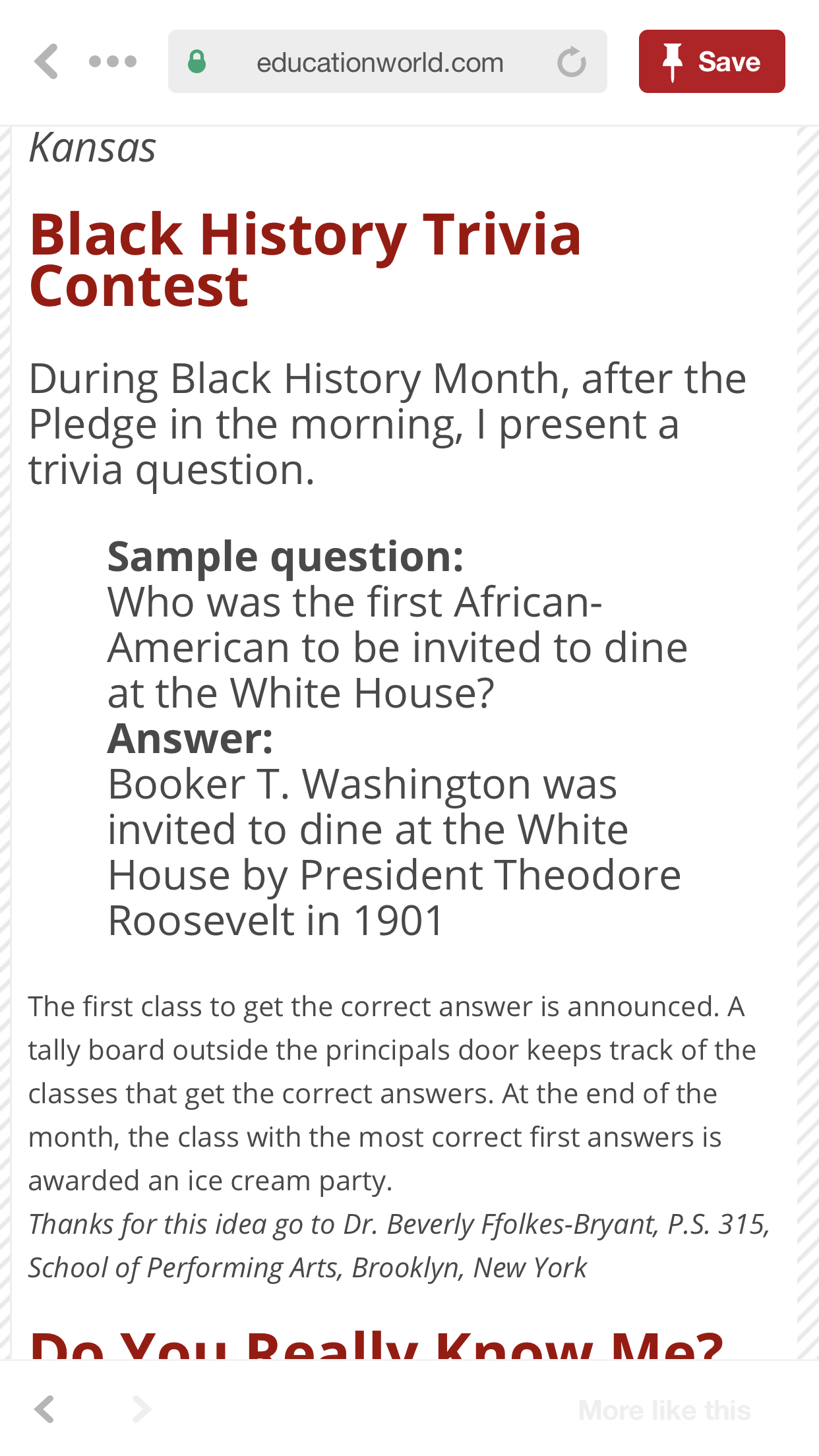 History Trivia Questions For Seniors