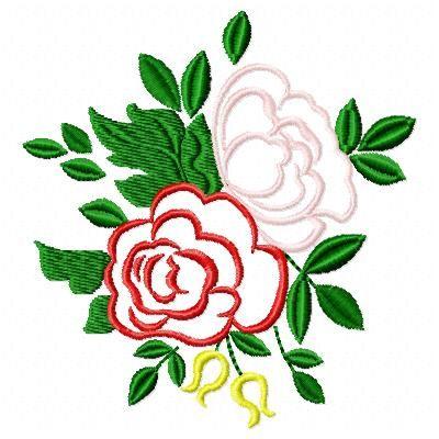 Applique Roses