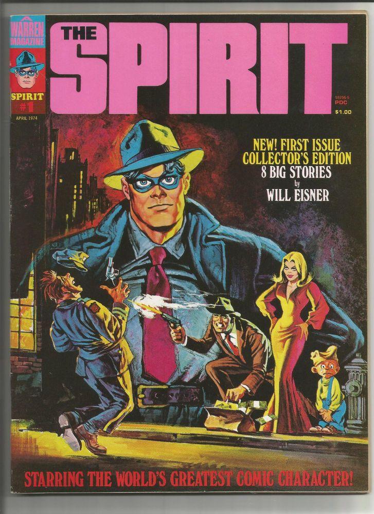 THE SPIRIT #1 Grade 8.5 find from Kitchen Sink/Warren publishing ...
