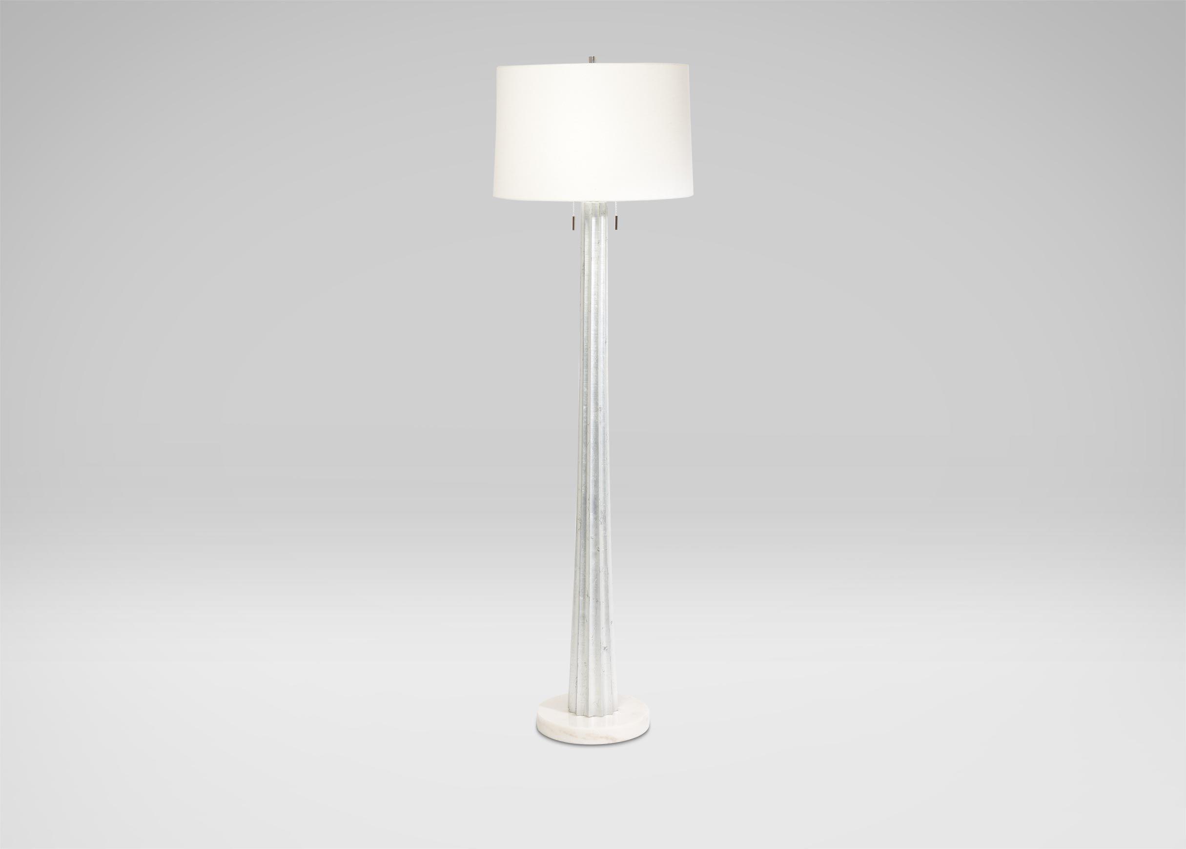 Silver melrose floor lamp highland oaks lighting pillows art silver melrose floor lamp aloadofball Gallery