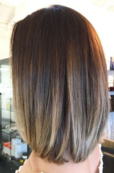 Brunette With Subtle Highlights Hair Color In 2019