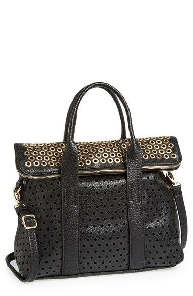 Expressions Nyc Faux Leather Satchel Available At Nordstrom