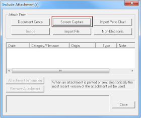 Using Screen Capture For Claim Attachments Typed Notes Capture