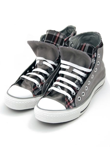d3720f1f9b22 Converse Grey All Star Double Upper Trainer