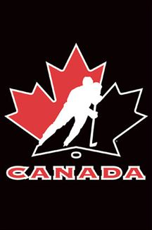 Hockey Canada Official Logo Poster Team Canada Costacos Sports 2009 Available At Www Sportsposterwarehouse Com Team Canada Hockey Canada Logo Team Canada
