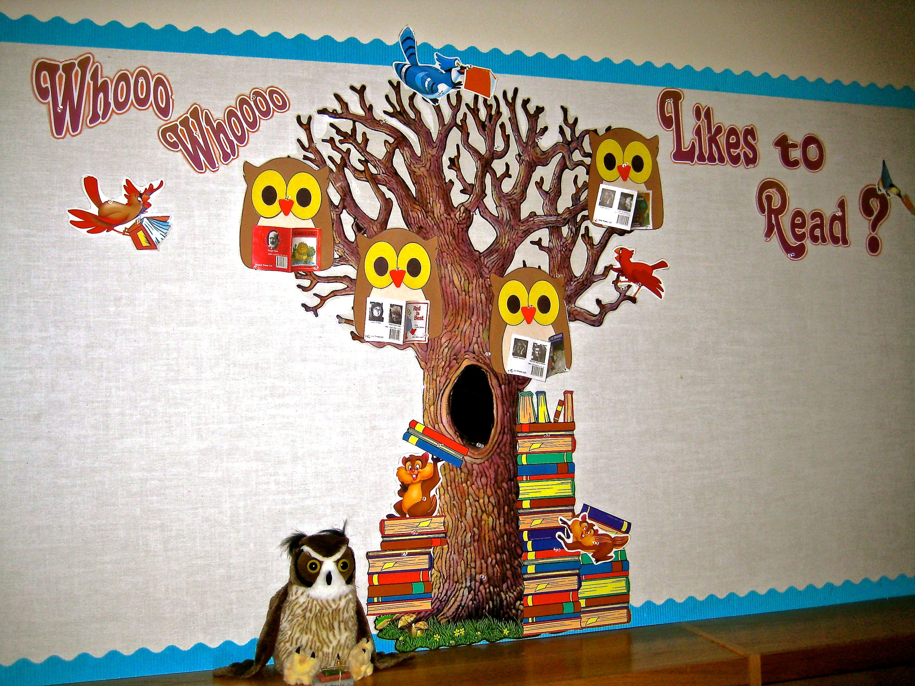 library bulletin board ideas | Decorating Ideas  Library ...