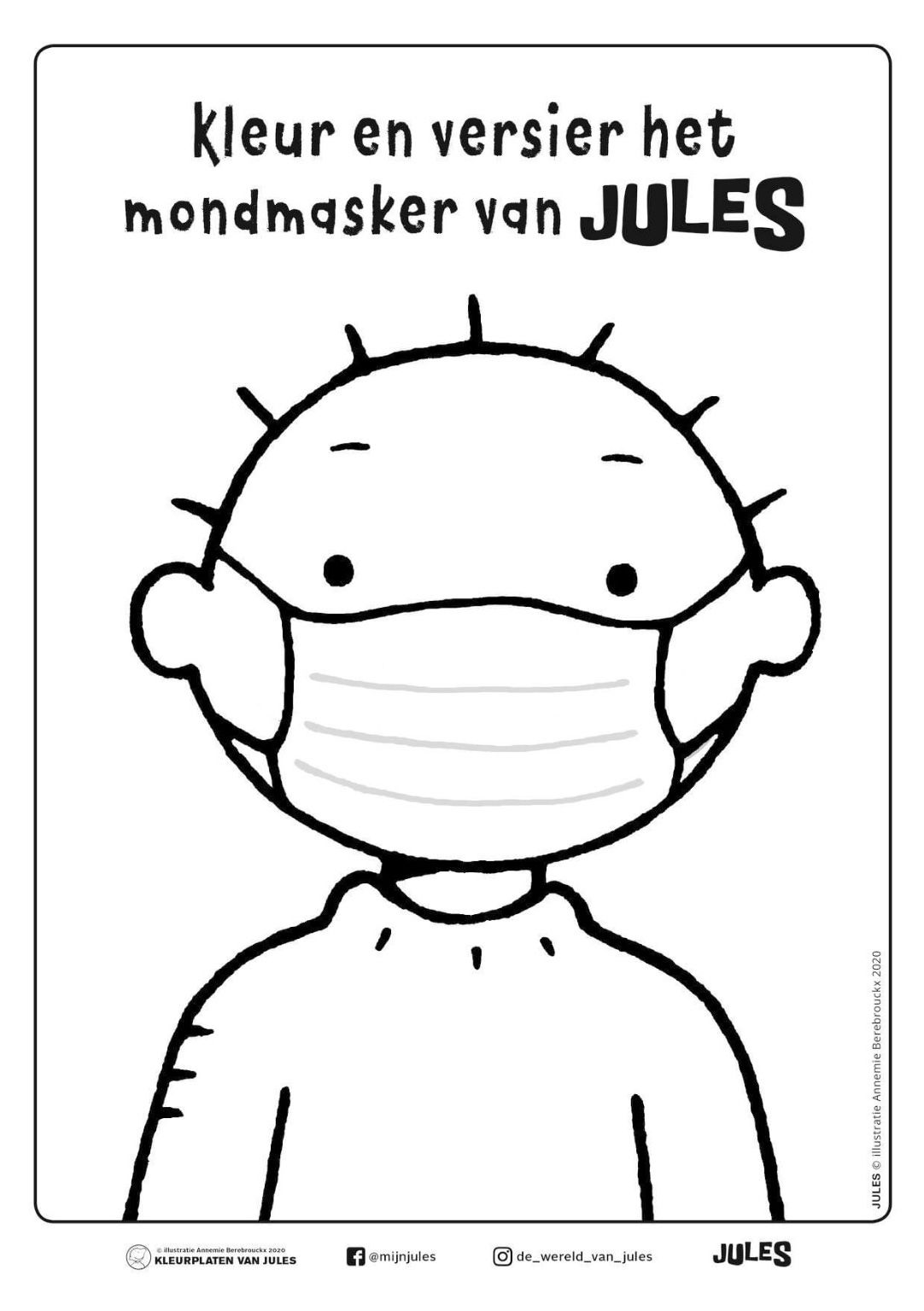 Pin Op Dag Jules