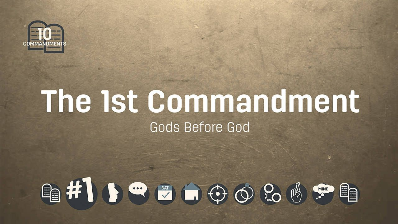 Wistia video thumbnail the st commandment gods before god
