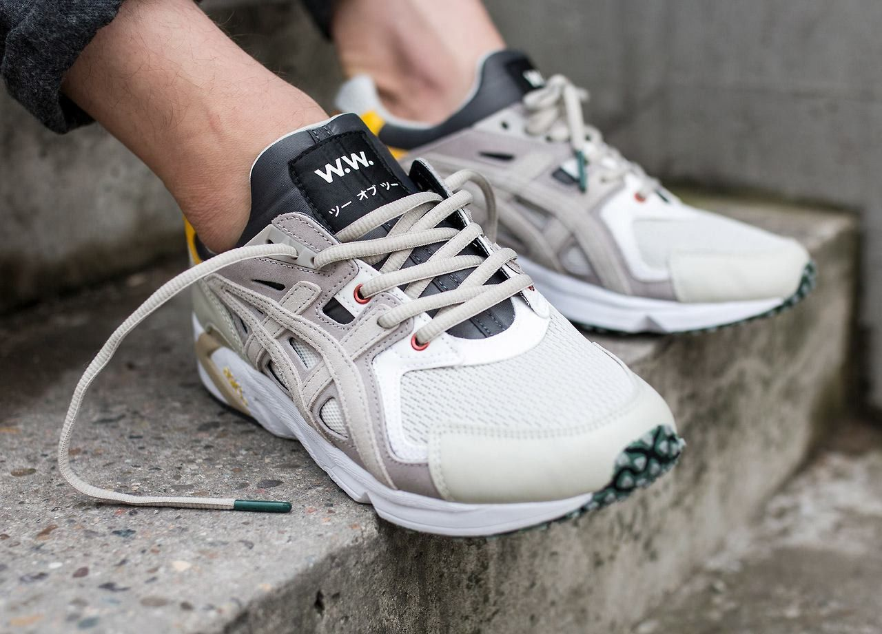 huge selection of 78a69 e3f51 Wood Wood x Asics Gel-DS Trainer OG (via Kicks-daily.com ...