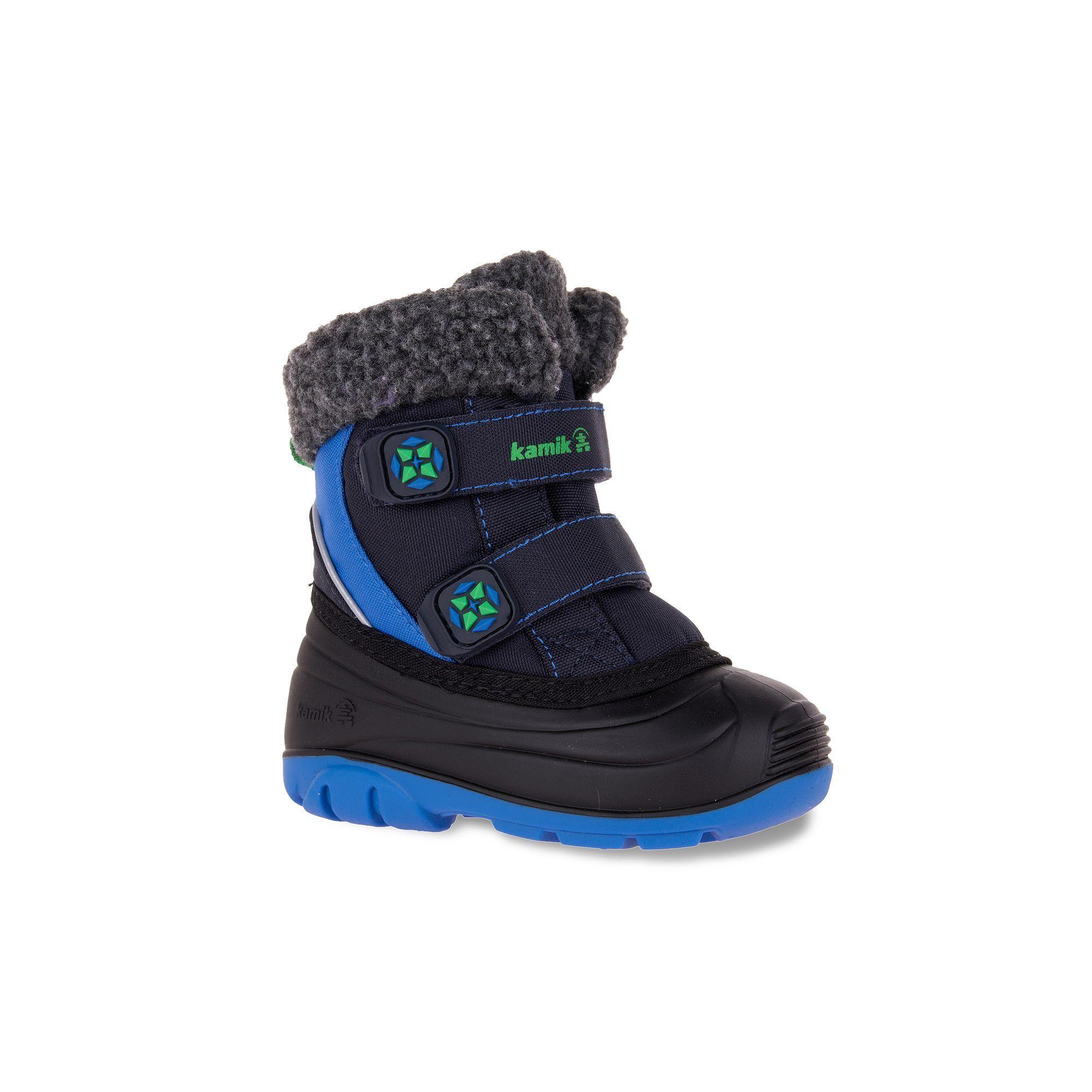 03308f4a267f Kamik Clover Toddler Boys  Waterproof Winter Boots
