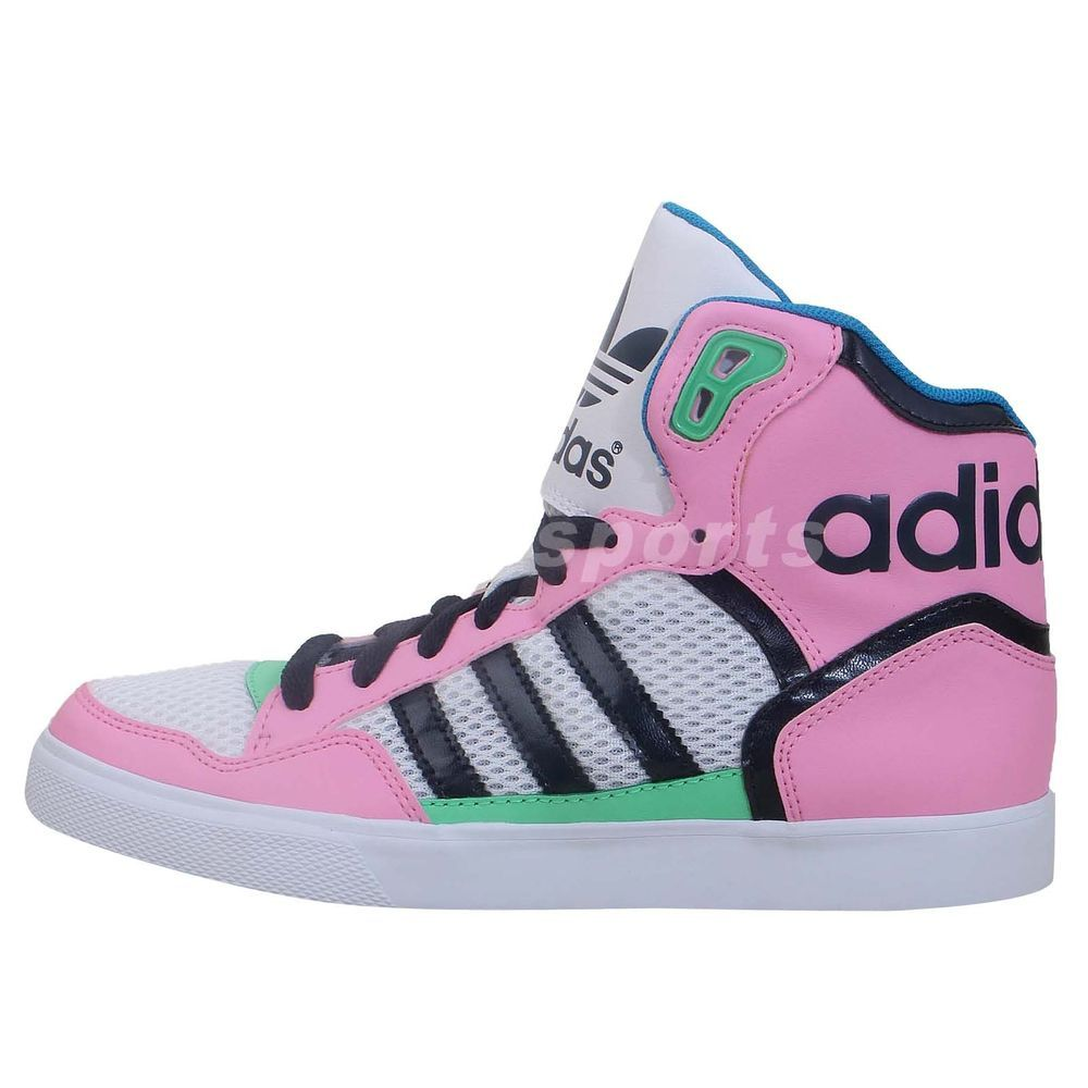 Adidas Originals Extaball W Pink Navy Green 2014 Womens