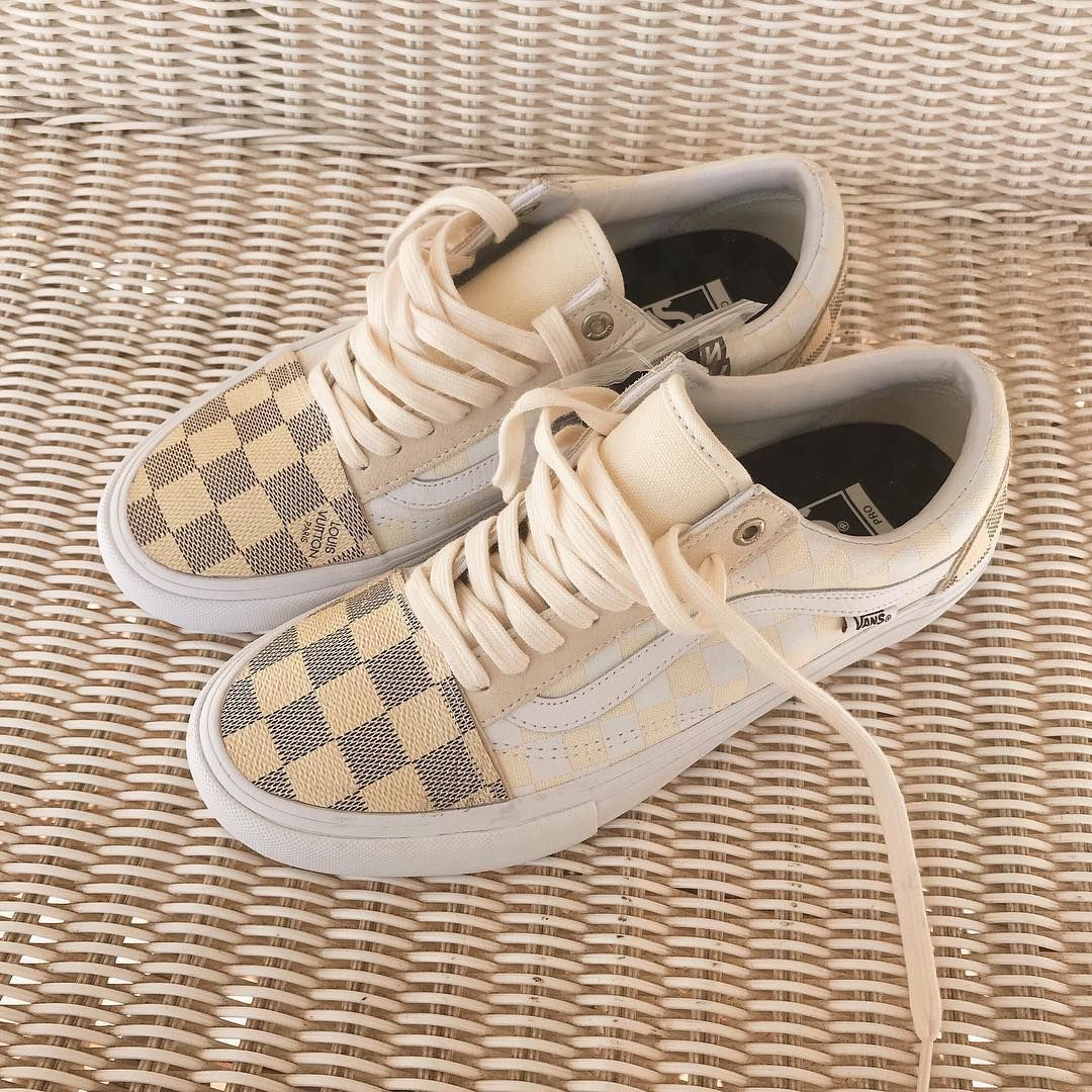 Louis Vuitton Custom VANS Old Skool Pro