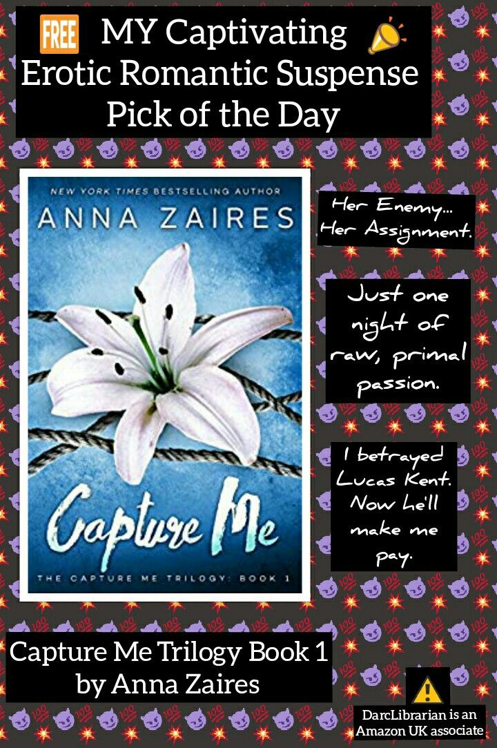 Capture Me By Anna Zaires Amazon Co Uk Kindle Store