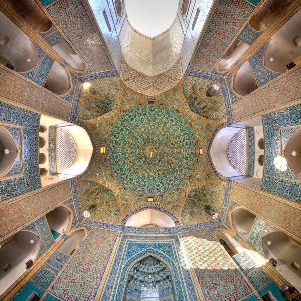 ♥ Jame Mosque Of Yazd photographed - Mohammad Reza Domiri Ganji - IRAN