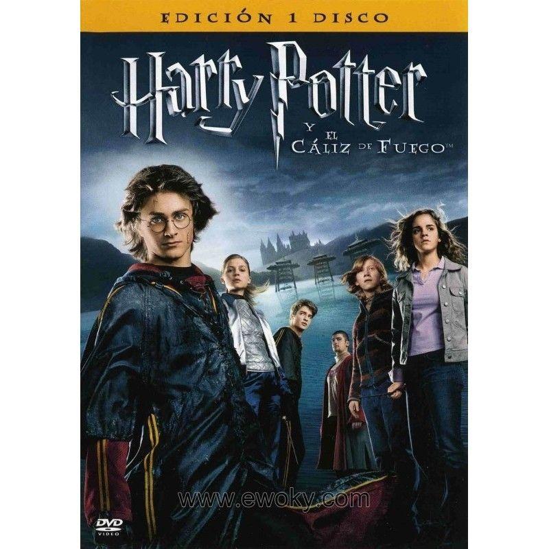 Harry Potter Y El Caliz De Fuego Dvd Ewoky Shop Tienda Disney Store Star Wars Marvel Dc Funko Pop Vi Harry Potter Goblet Goblet Of Fire Harry Potter Movies