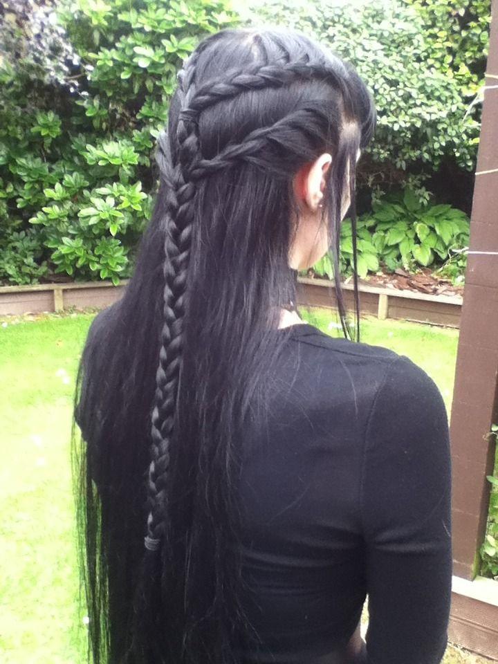 Batty Bizarre Thanks To My Talented Mum I Wore This Elven Elf Hair Hair Styles Viking Hair