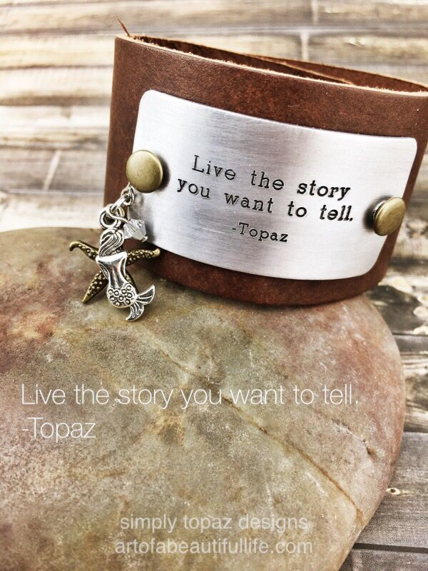 boho-leather-cuff-bracelet-inspirational