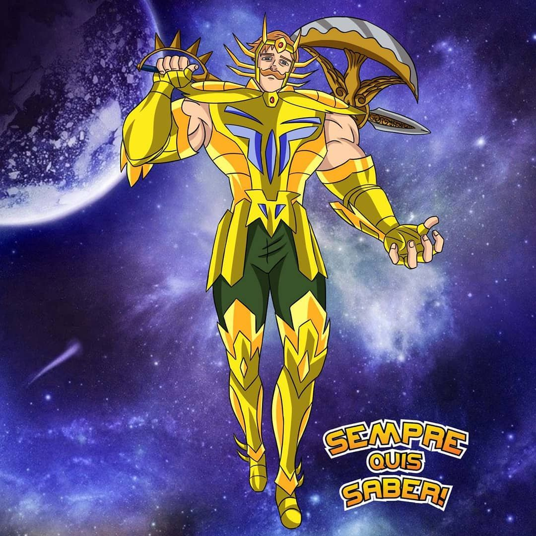 Escanor De Cancer Com Imagens Escanor Anime Sete Pecados