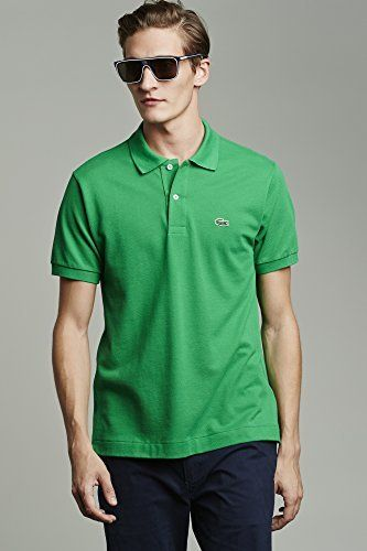 0d90811fe Lacoste classic fit Short Sleeve Classic Pique Polo in kelly green. Size  XXL.