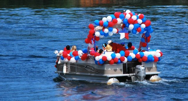 Image Result For Pontoon Boat Decorating Contest