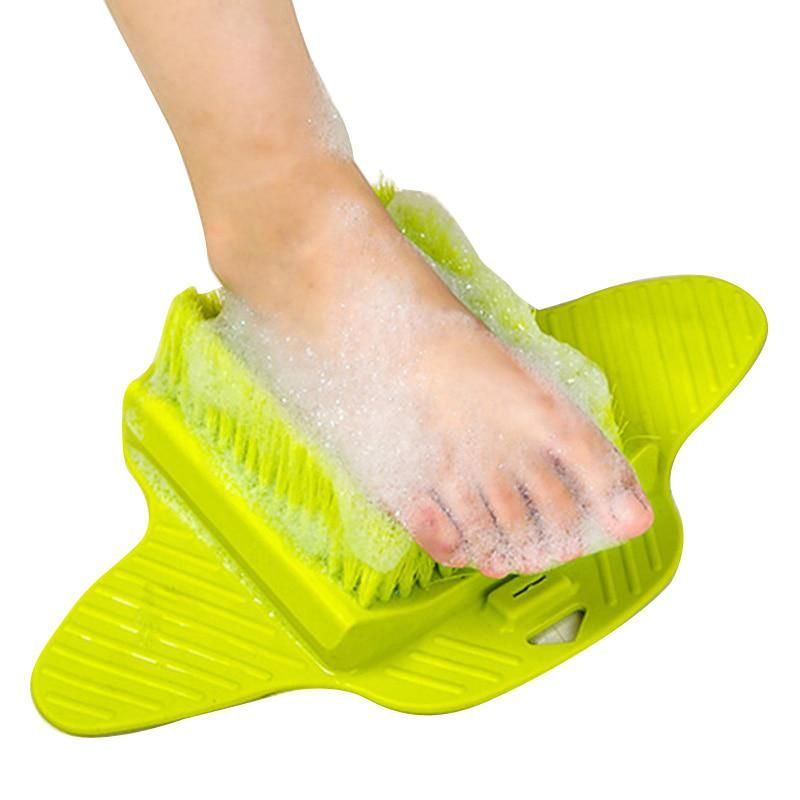 34a614d83 Foot Brush Scrubber Feet Massage Bath Blossom Scrub Brushes Exfoliating Spa  Shower Remove Dead Skin Cleaning
