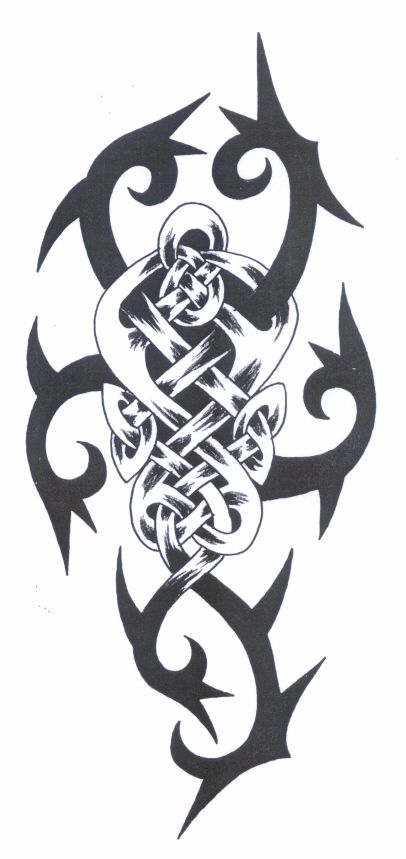Celtic Tribal Tattoos Meaning Strength