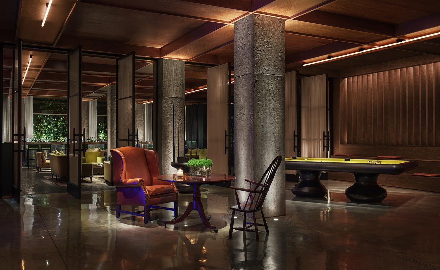 Ian Schrager Launches A 21st Century Iteration Of The Hotel  # Muebles Hilton Capital Federal