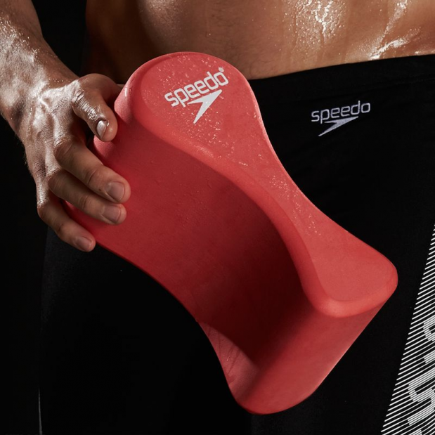 Use a pullbuoy during your swim workout to isolate your legs and build your upper body strength. #Sp...