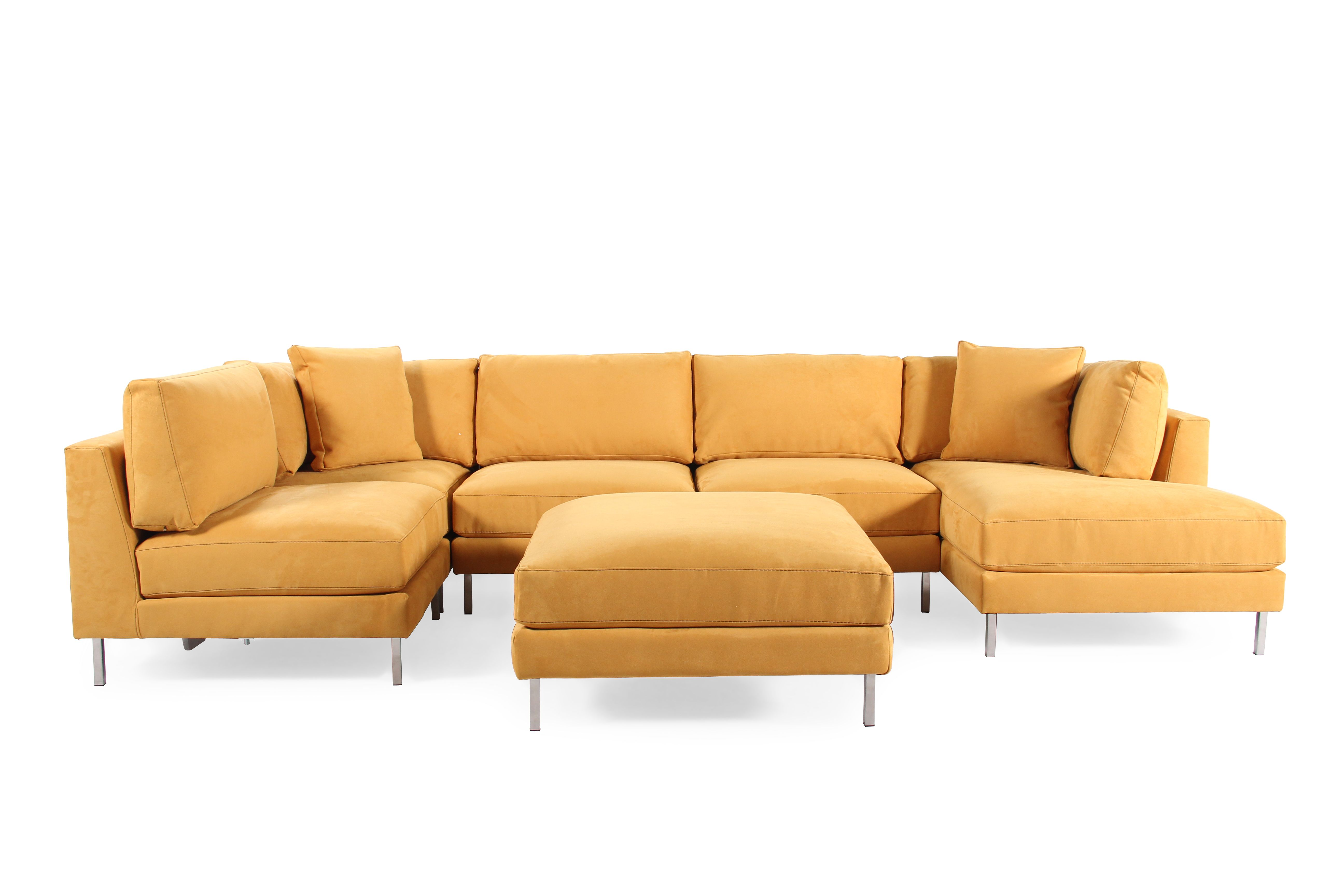 jonathan louis remy six piece sectional mathis brothers furniture rh pinterest com