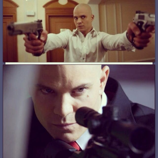 Now I'm not a gamer but I loved the movie Hitman. And you already know I'm a huge Tim fan. Some say they hated it but I wouldn't dare. I'm captivated by Tim with or without hair. #TimothyOlyphant #hitman